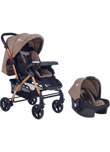 4 Baby 4 Baby Active Travel Sistem Bebek Arabası Kahve
